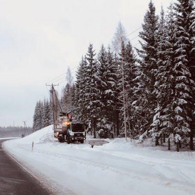 Sähköä Aeroon tammikuu 2019