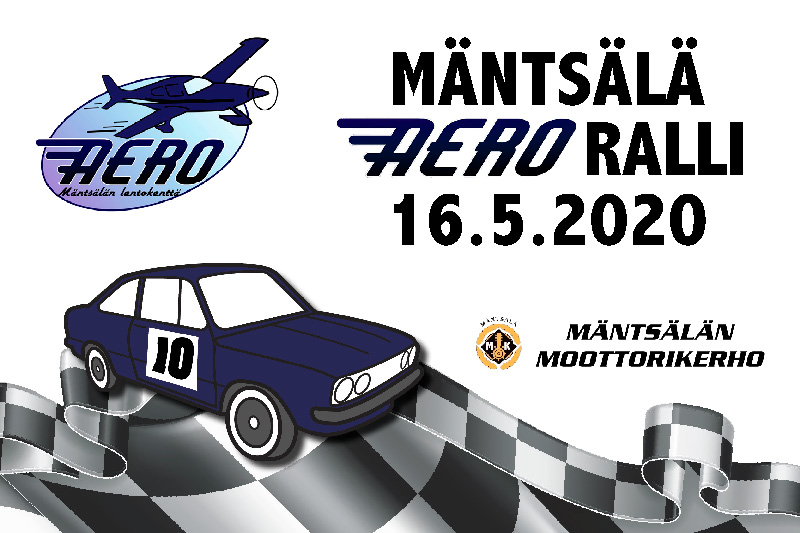 Mäntsälä Aero Ralli 16.5.2020